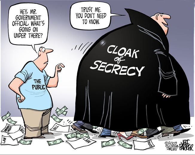 political secrecy
